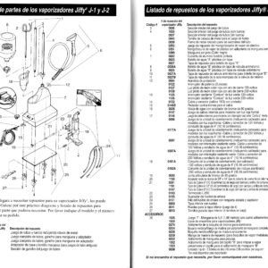 diagrama de partes J-2