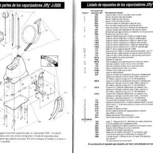 diagrama de partes J-2000