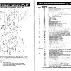 diagrama de partes J-4000
